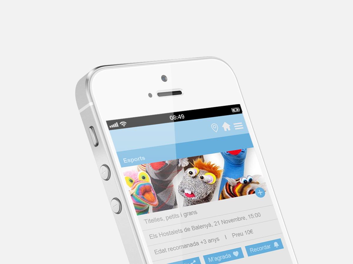 disseny i programació aplicació mòbil