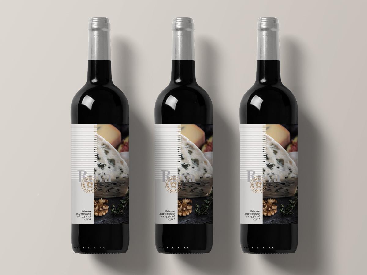 disseny etqieta de vi