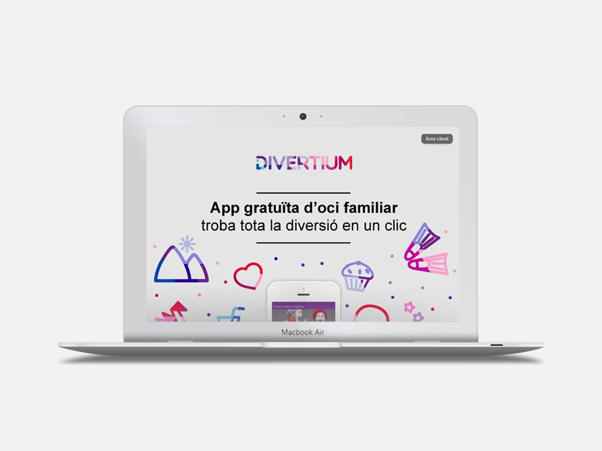 web responsive activitats en família