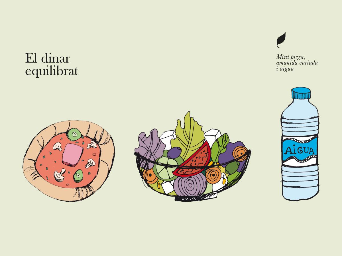 gràfica i il·lustració dinar