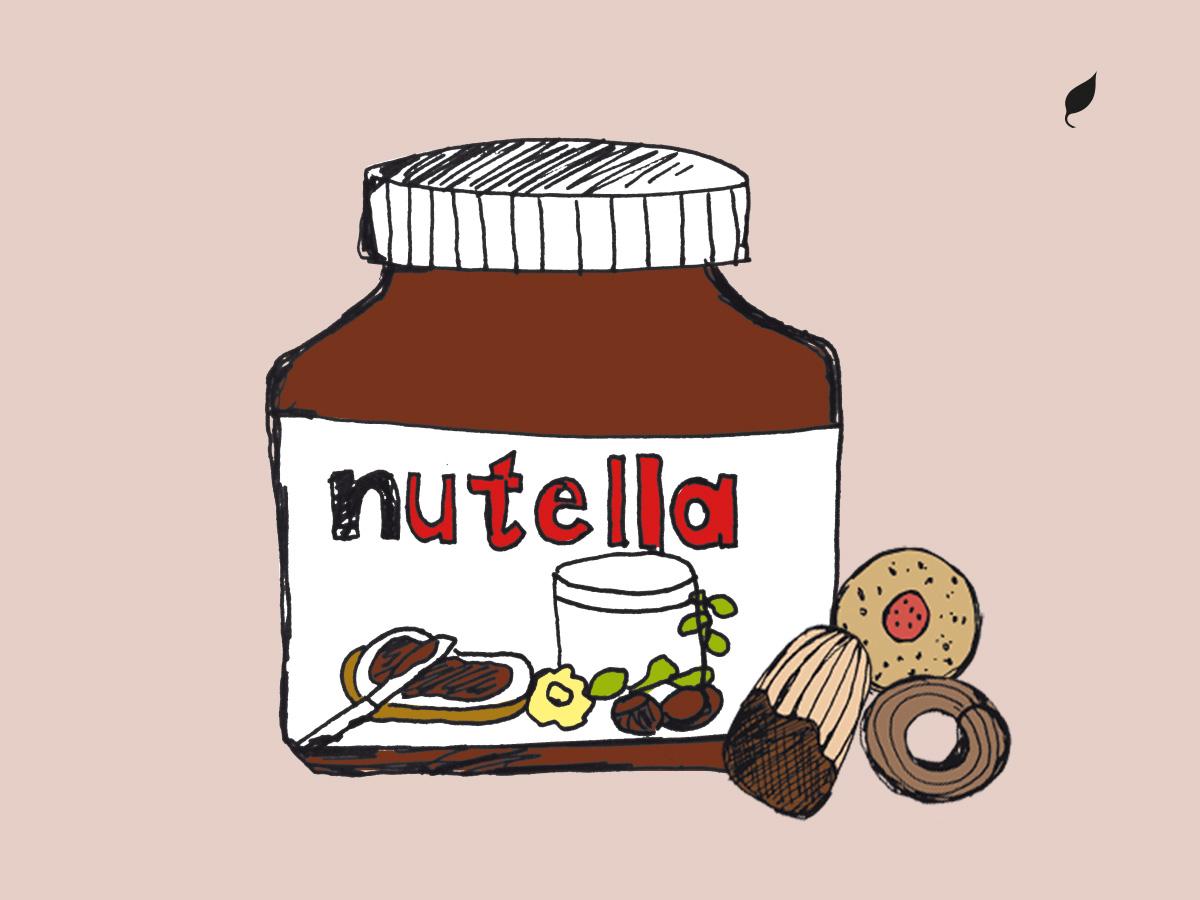 gràfica i il·lustració nutella
