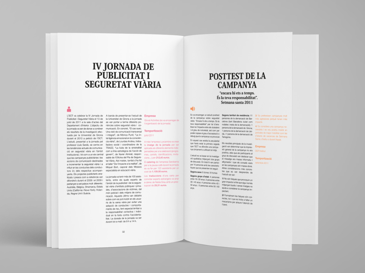 disseny catàleg servei català de trànsit
