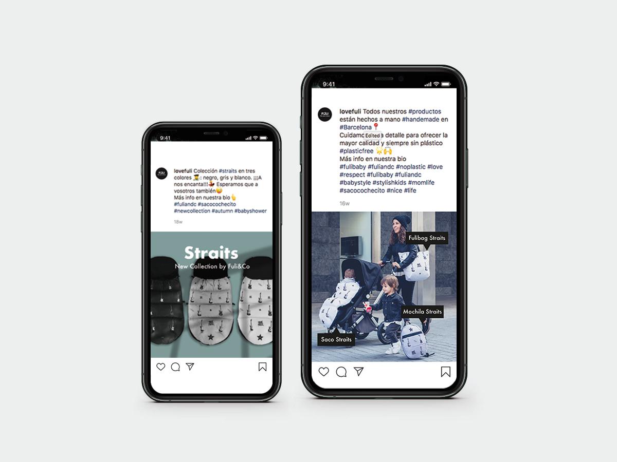 Diseño de contenido para redes sociales fuli