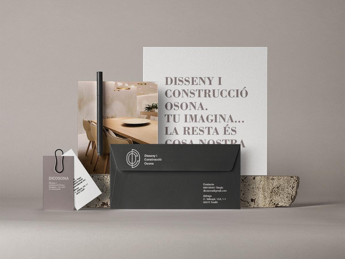 diseño papeleria corporativa empresa