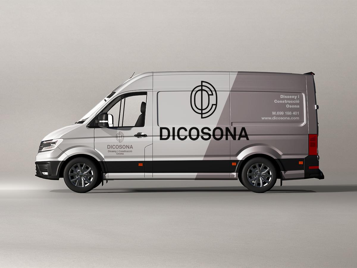 diseño vinilos furgoneta