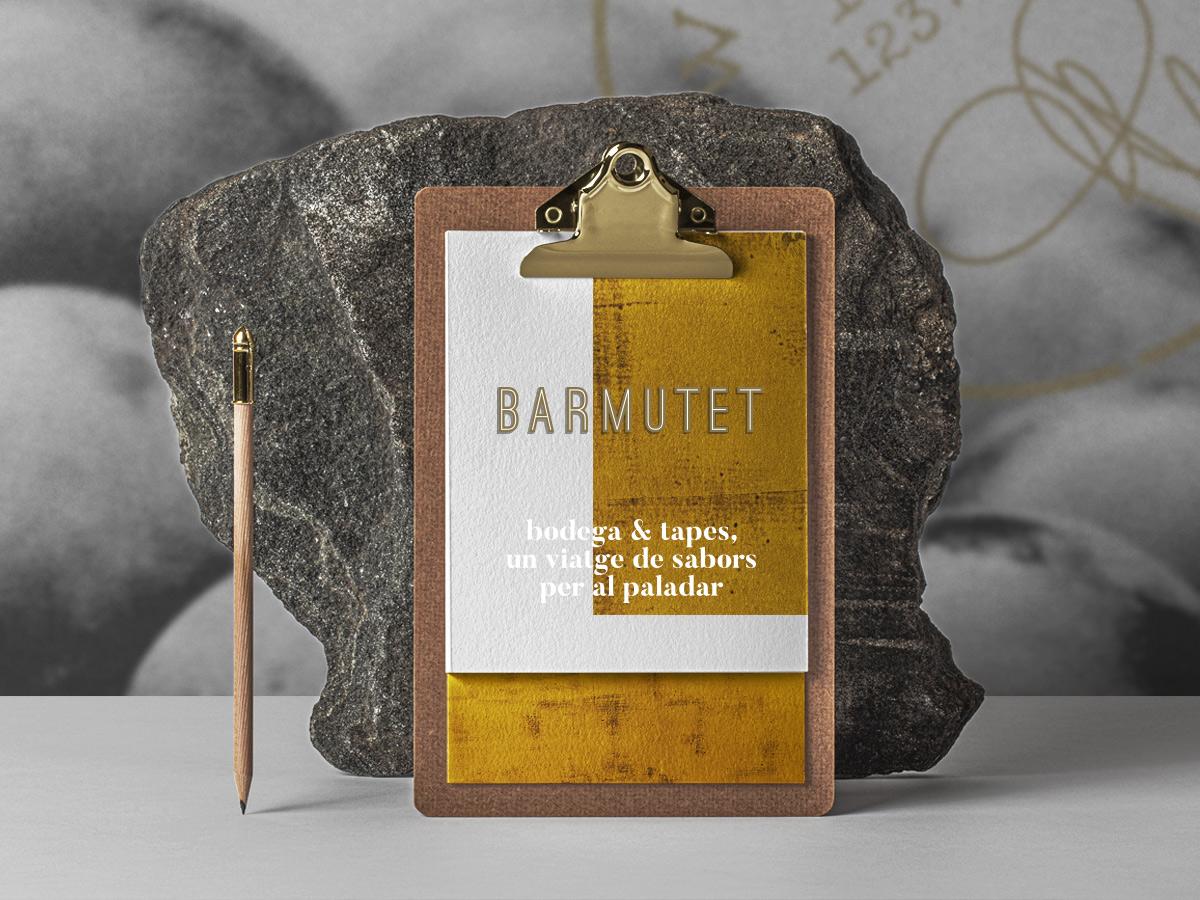Disseny carta vermuteria Barmutet Vic